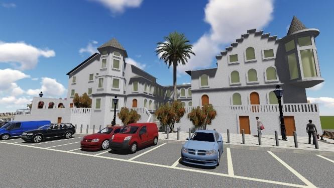 Rehabilitación del palacio de Jaime del Amo en Suances