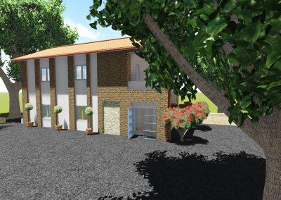 Reforma de antiguas escuelas de Vejorís para su adecuación a vivienda