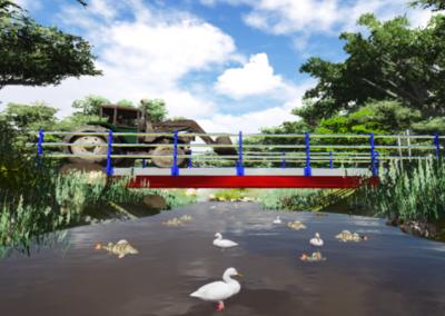 Proyecto de ejecución de puente sobre el río Sámano, Castro Urdiales