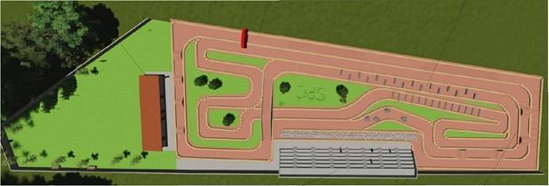 Área de ocio polivalente y circuito de enduro en la vía verde del Pas